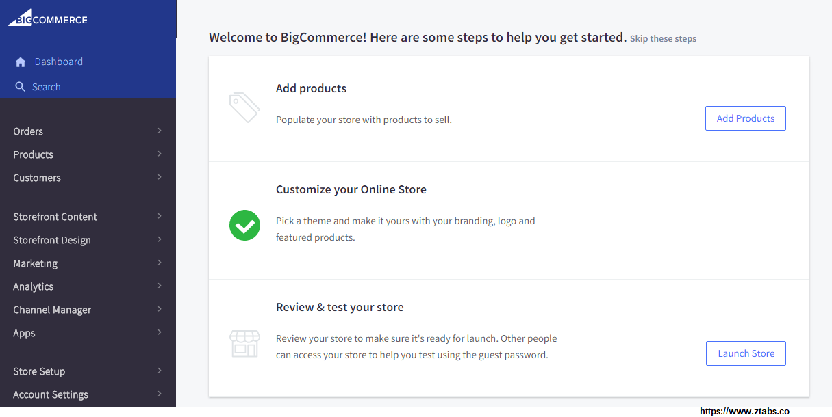 bigcommerce-dash