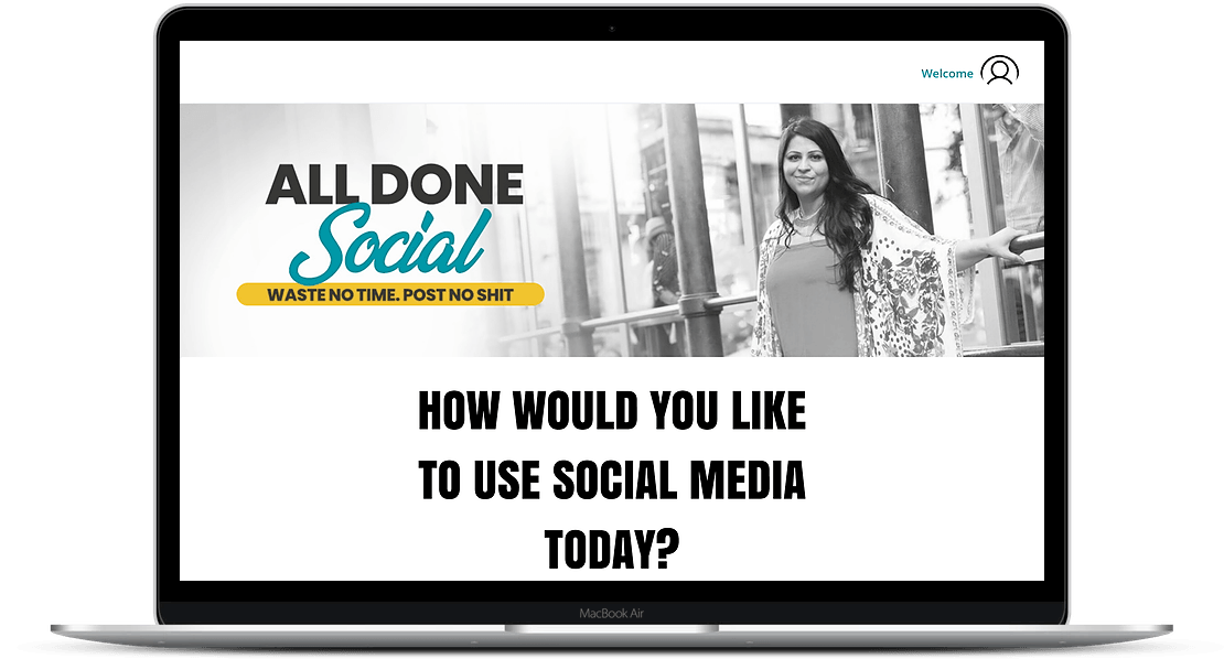 All Done Social | A Web Application To Do Your Social Media Work