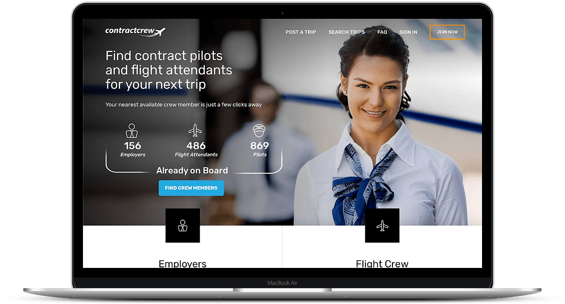 Contract Crew | A Web App to Connect Crew Members with Employers