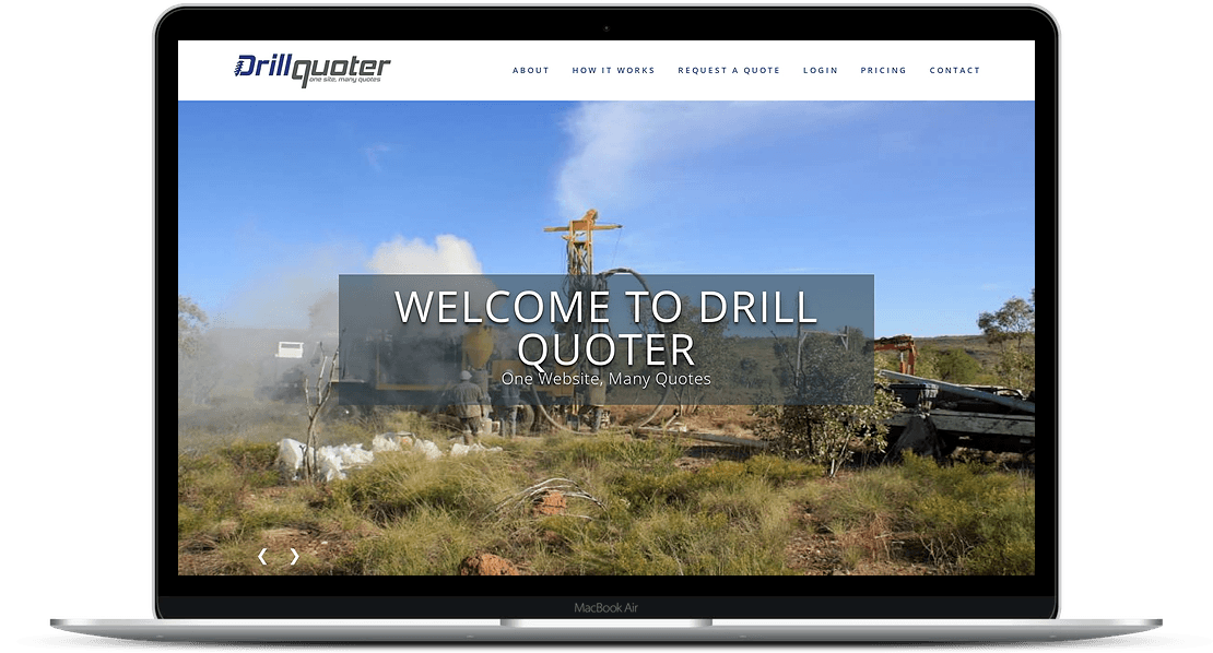 Drill Quoter | Online Drilling Services Marketplace